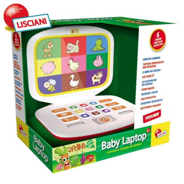 Lisciani Giochi -  Бебешки лаптоп 50048