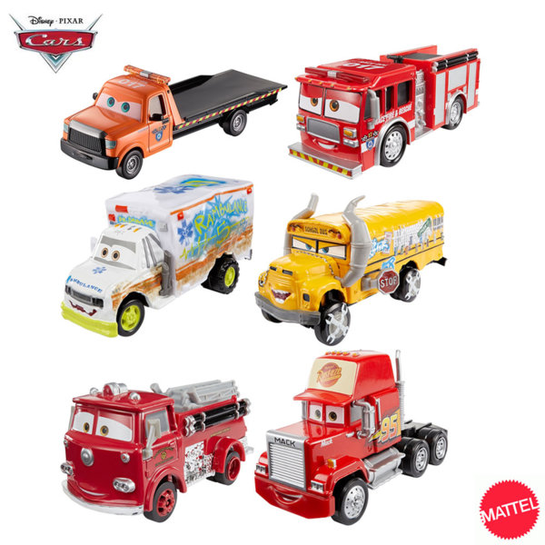 Mattel - Disney Cars Количка Карс DXV90