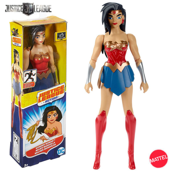 Mattel Justice League - Екшън фигура 30см Жената чудо FBR02