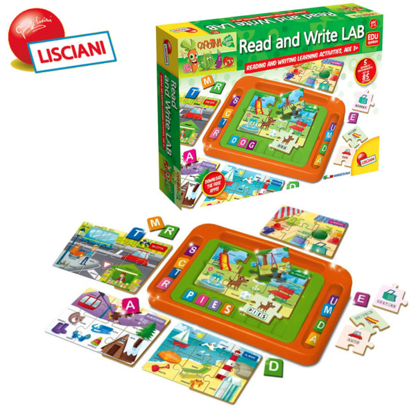 Lisciani Giochi - Детска образователна игра за четене и писане 50123