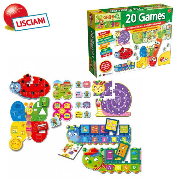 Lisciani Giochi - Детски образователни игри с интерактивна писалка 20в1 44627