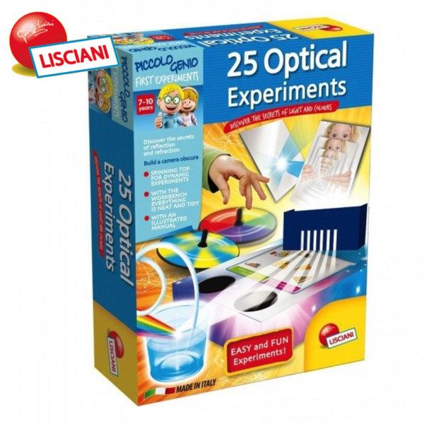 Lisciani Giochi - Детска лаборатория Оптични експерименти 50161