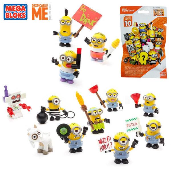 Mega Bloks Minions - Случайна мини фигурка в пликче FDM39