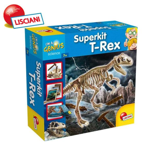 Lisciani Giochi - Детски комплект Разкопки Динозавър T-REX 56415