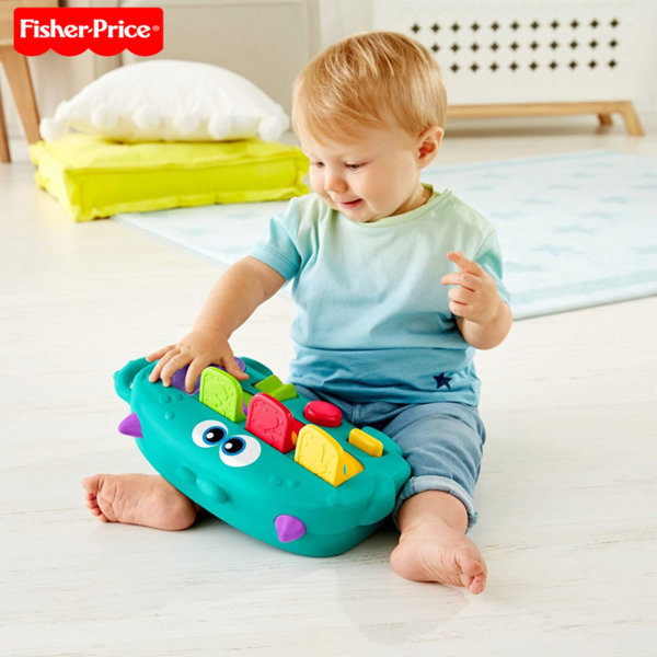 Fisher Price - Занимателна играчка Изскачащи чудовища DYM89