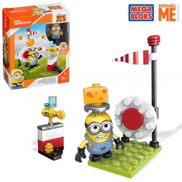 Mega Bloks Minions - Забавен строител Престрелка със сирене FDX72
