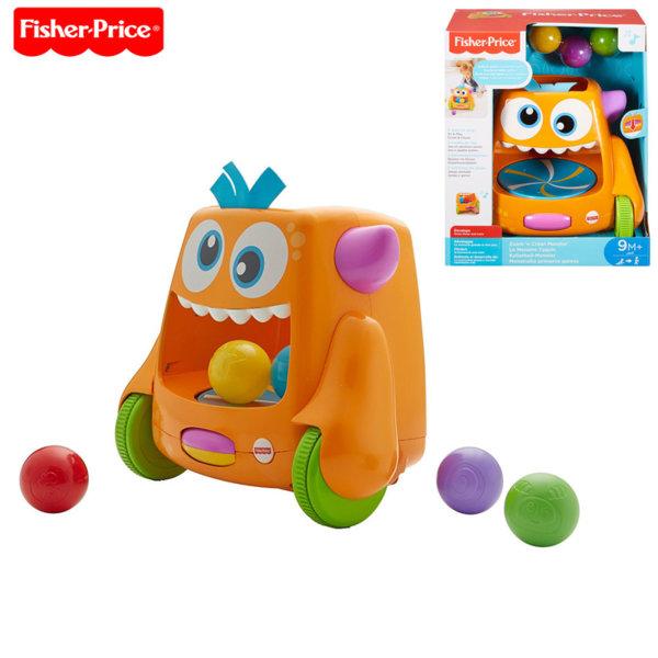 Fisher Price - Пълзящо музикално чудовище с топчета FLP37