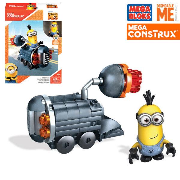 Mega Bloks Minions - Забавен строител Колата на Гру FDX75