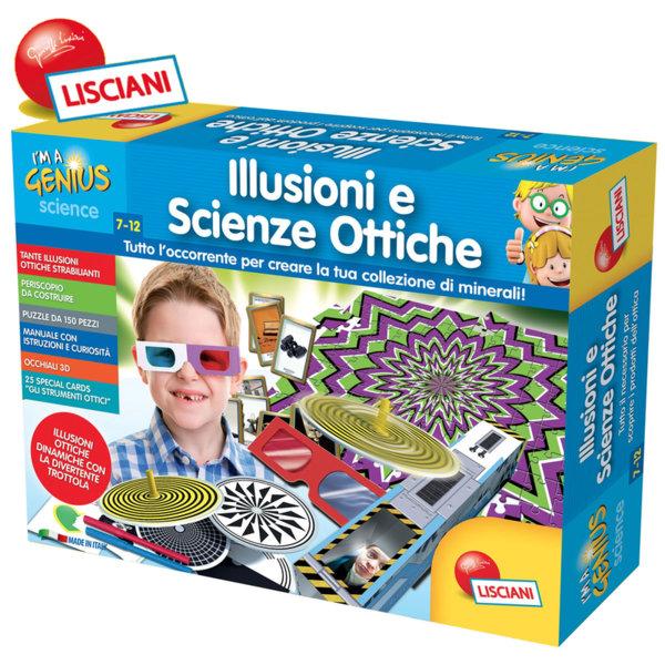 Lisciani Giochi - Детски комплект Оптични илюзии 50185