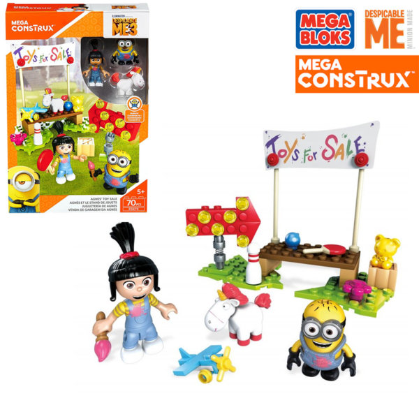Mega Bloks Minions - Магазина за играчки на Агнес FDX78