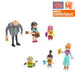 Mega Bloks Minions - Забавен строител Фамилно парти FHY38