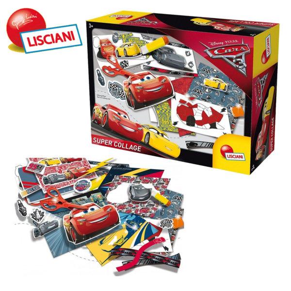 Lisciani Giochi Disney - Детски комплект Cars Суперколаж 60399