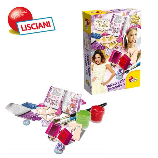 Lisciani Giochi Disney - Детски комплект Модни декорации Виолета 47635