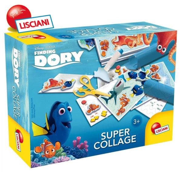 Lisciani Giochi Disney - Детски комплект DORY Супер колаж 56101