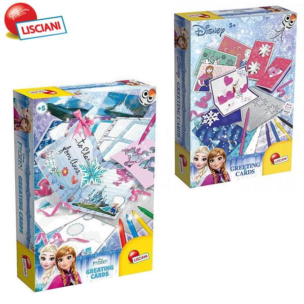 Lisciani Giochi Disney - Създай поздравителна картичка FROZEN 52936