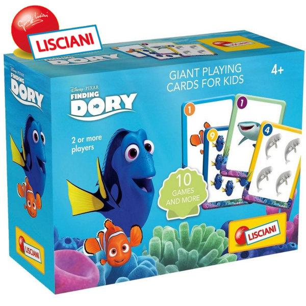 Lisciani Giochi Disney - Детски комплект карти 10 игри DORY 56934