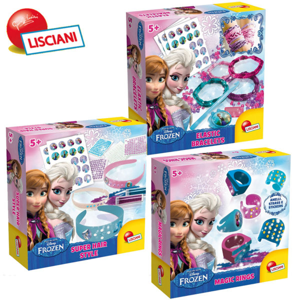 Lisciani Giochi Disney - Направи си бижута FROZEN 49189