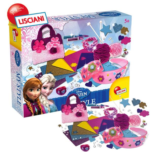 Lisciani Giochi Disney - Детски комплект направи си сам чанта и аксесоари Frozen  51496