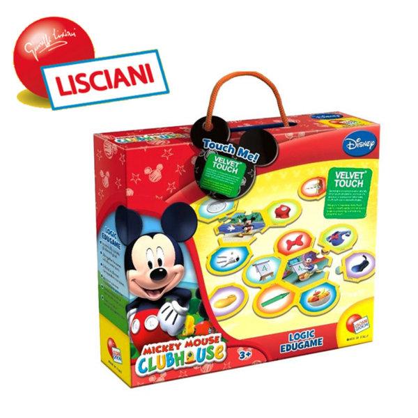 Lisciani Giochi Disney - Логическа игра комплект пъзел и мемори карти с Мики Маус 41725