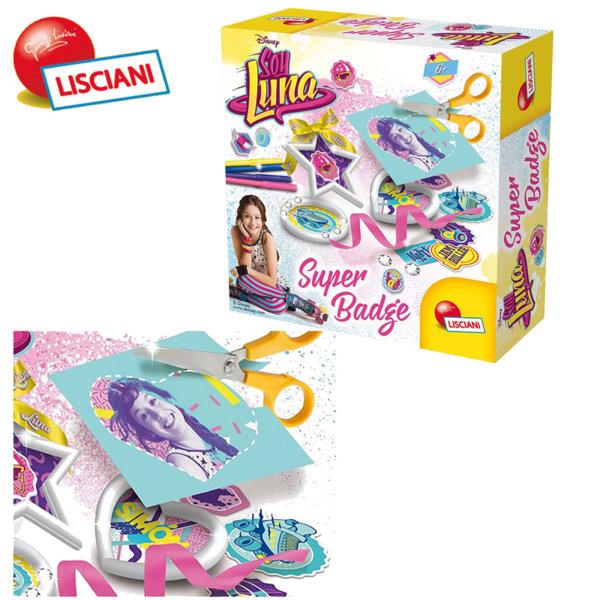 Lisciani Giochi Disney - Детски комплект Супер значки Soy Luna 60474
