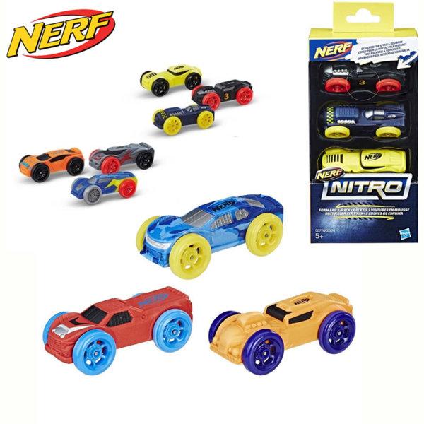 Hasbro Nerf Nitro - Нърф нитро колички 3 броя C0774