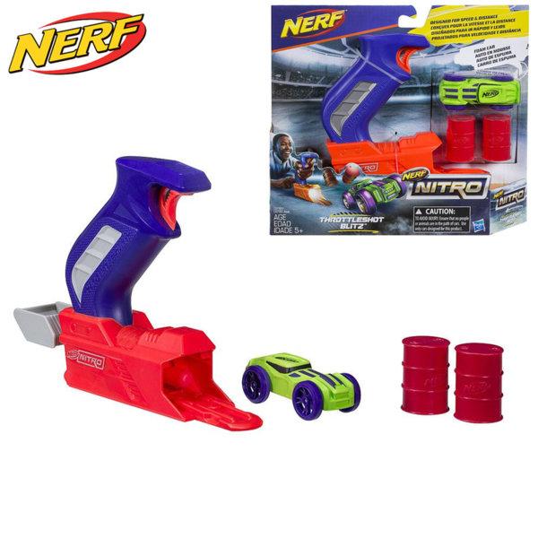 Hasbro Nerf Nitro - Нърф изстрелвачка с нитро количка синя C0780