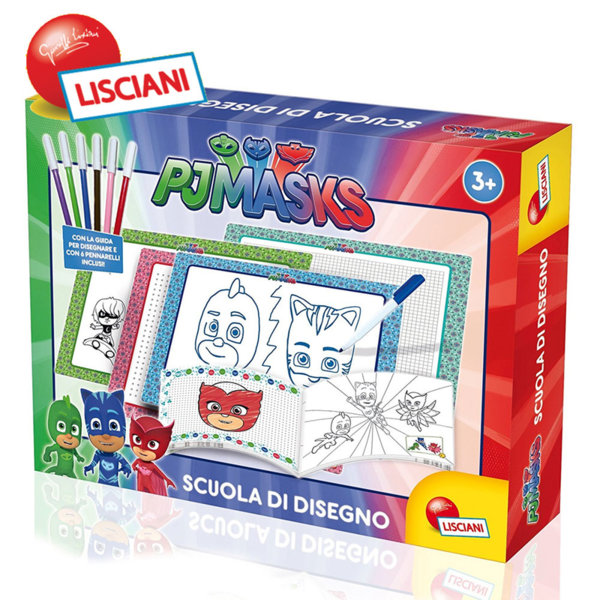 Lisciani Giochi - Комплект за рисуване PJ Masks 62980