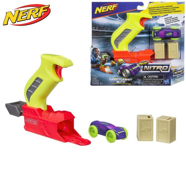 Hasbro Nerf Nitro - Нърф изстрелвачка с нитро количка жълта C0780