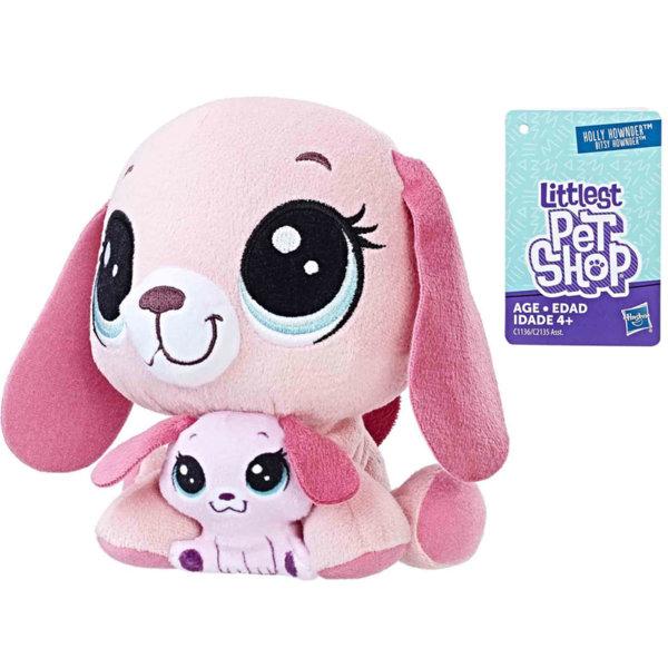 Littlest Pet Shop - Плюшени малки домашни любимци Кученце с малко c2135