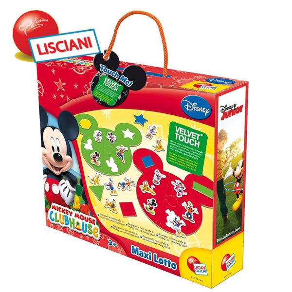 Lisciani Giochi - Игра пъзел Disney Мики Маус 41671