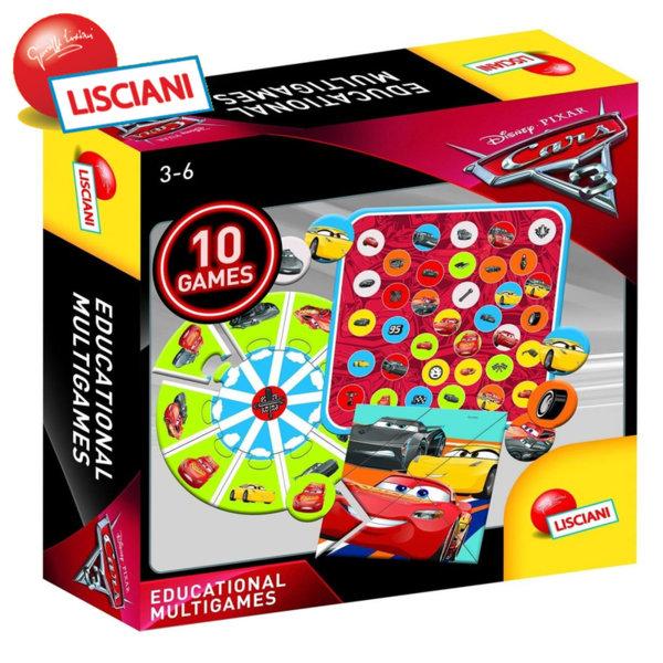 Lisciani Giochi Disney - Мулти игри CARS 3 EDUCATIONAL 61945