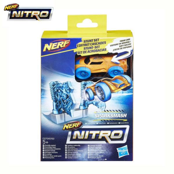 Hasbro Nerf Nitro - Нърф Нитро количка с каскада SparkSmash E0153