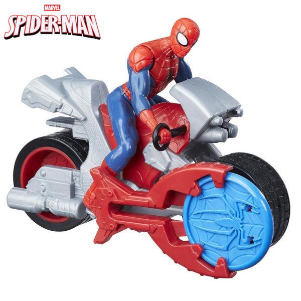 Hasbro - Spider Man с мотор и изстрелвачка на дискове Blast 'N Go B9705