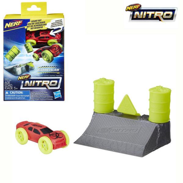 Hasbro Nerf Nitro - Нърф Нитро количка с каскада BarrelSlam E0153