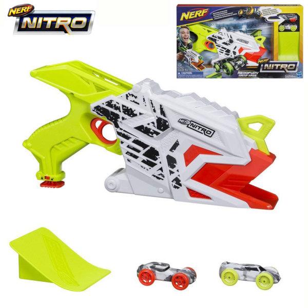 Hasbro Nerf Nitro - Нърф Бластер AeroFury изстрелващ нитро колички e0408