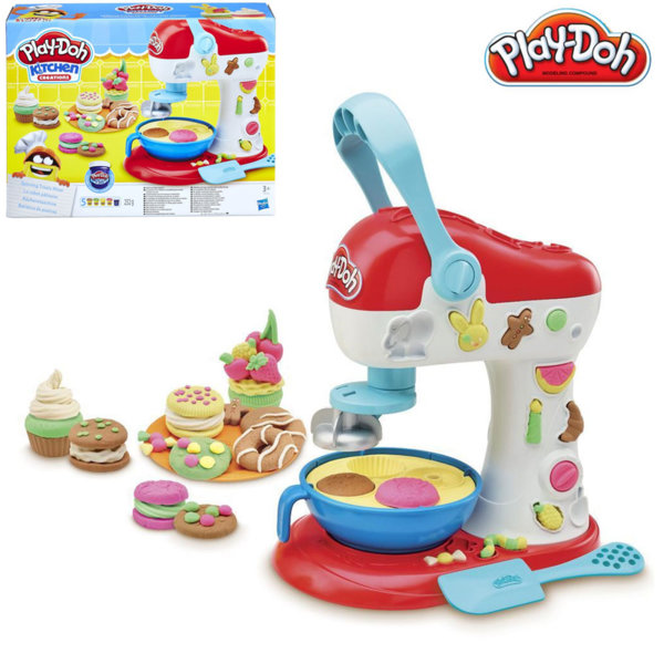 PlayDoh - Детски комплект Забавления в кухнята Миксер E0102