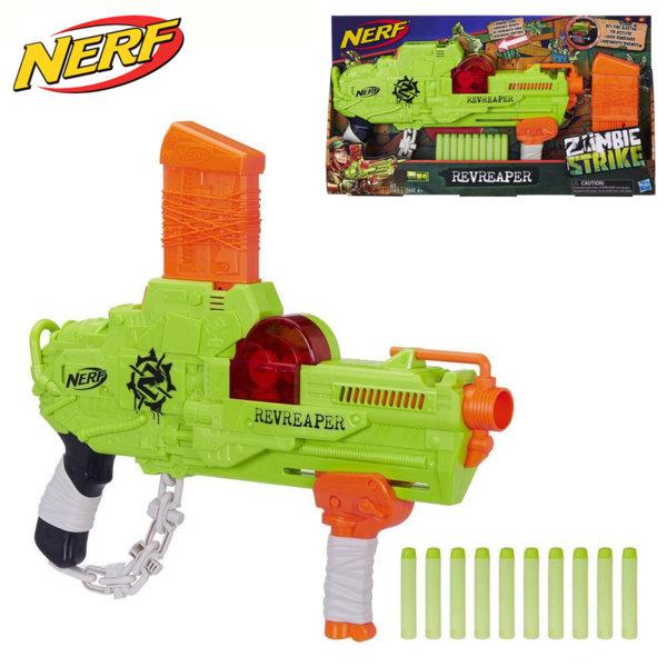 Hasbro Nerf - Нърф Zombie Strike Бластер RevReaper E0311