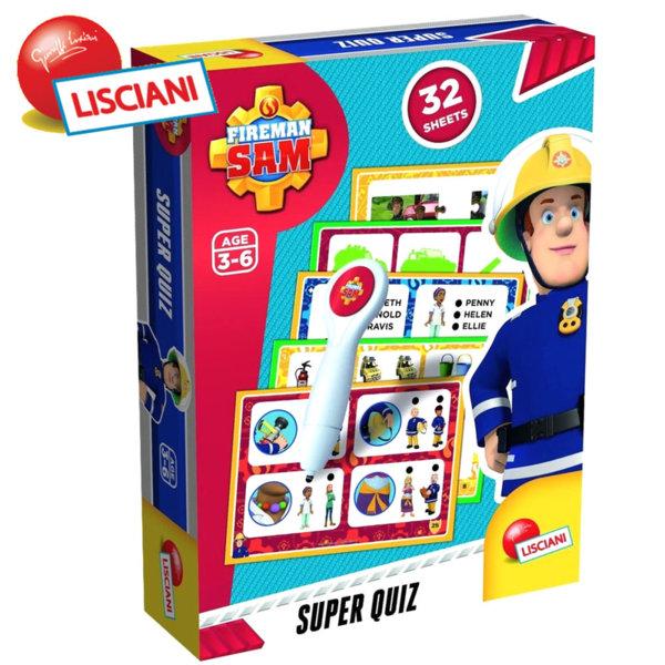 Lisciani Giochi - Игра  Пожарникаря Сам Superquiz 55357