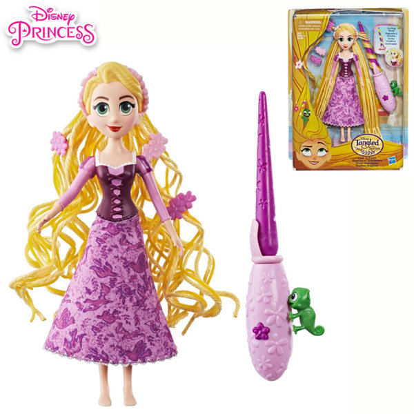 Disney Princess - Кукла Рапунцел с коса за прически e0180