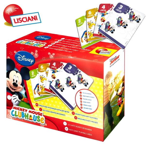 Lisciani Giochi - Карти за игра Disney Мики Маус 40605