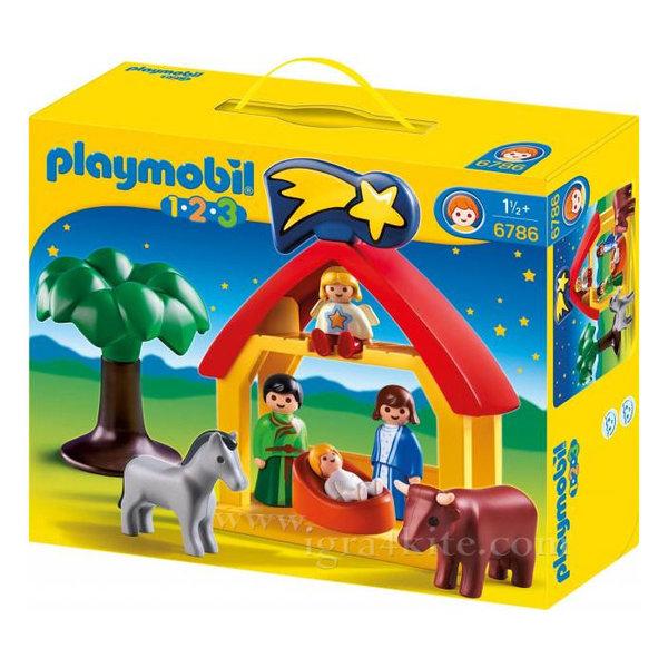 Playmobil - Коледни ясли 6786