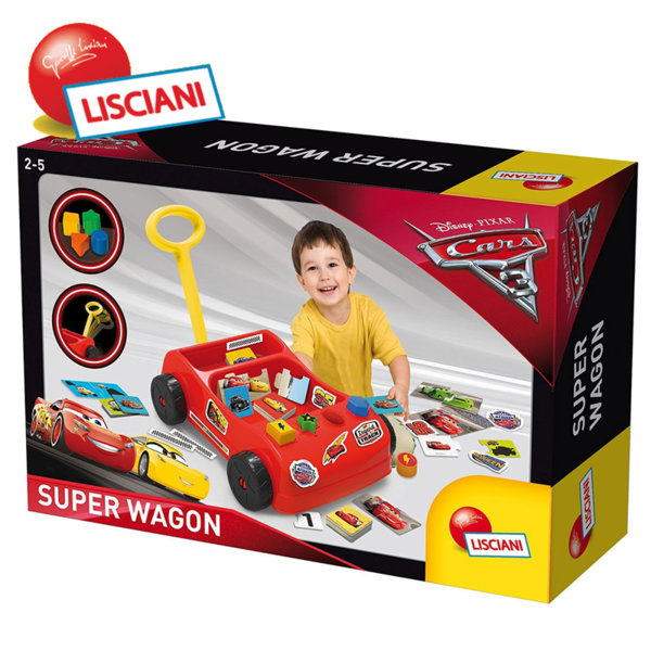 Lisciani Giochi Disney - Супер количка CARS 63154