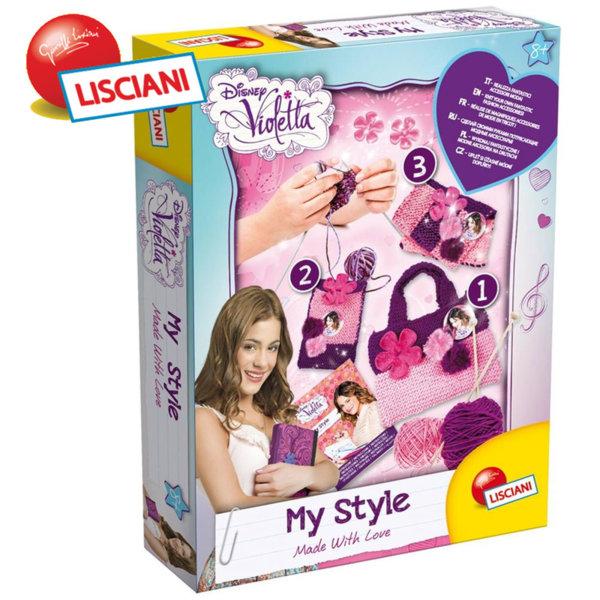 Lisciani Giochi - Комплект за плетене Disney Violetta 44214