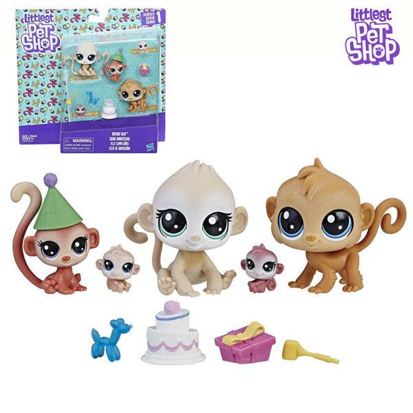 Littlest Pet Shop - Комплект малки домашни любимци Birthday Bash b9346