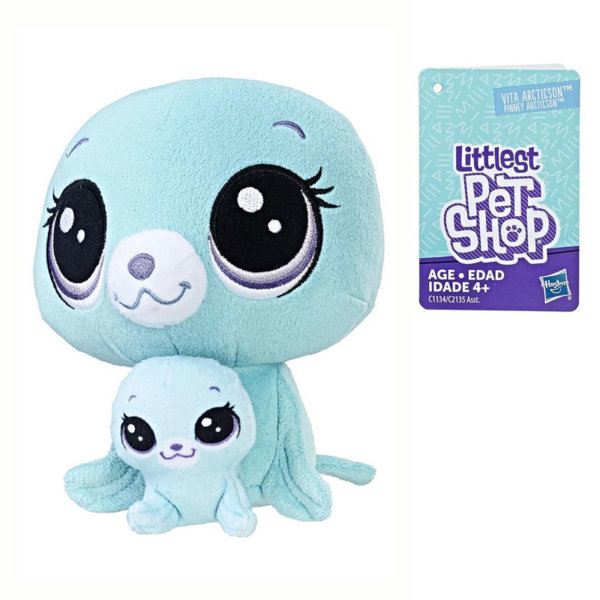 Littlest Pet Shop - Плюшени малки домашни любимци Тюленче с малко c2135