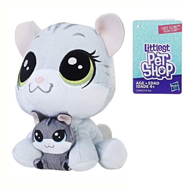 Littlest Pet Shop - Плюшени малки домашни любимци Котенце с малко c2135