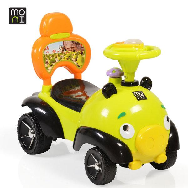 Moni - Детска кола за бутане с крачета Bomb 8208 зелена 106109