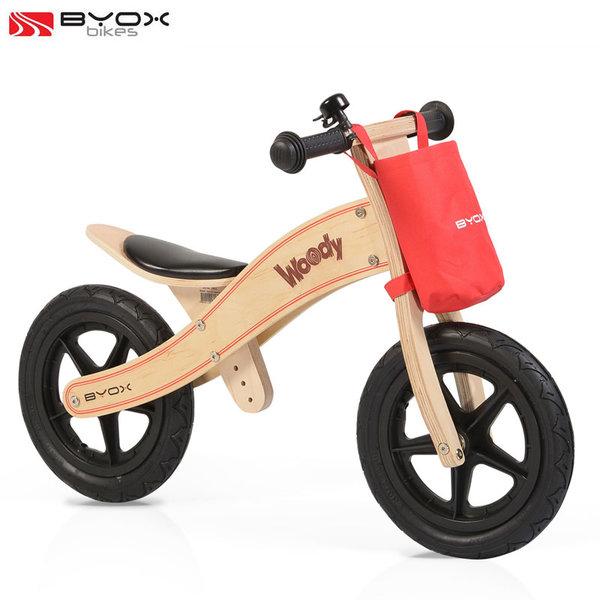 Byox Bikes - Детско дървено балансиращо колело Woody 0103/106214