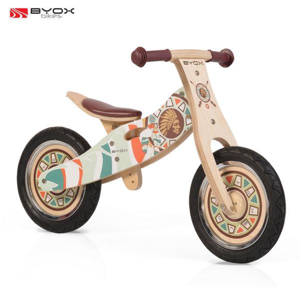 Byox Bikes - Детско дървено балансиращо колело Indiana 01423/106273