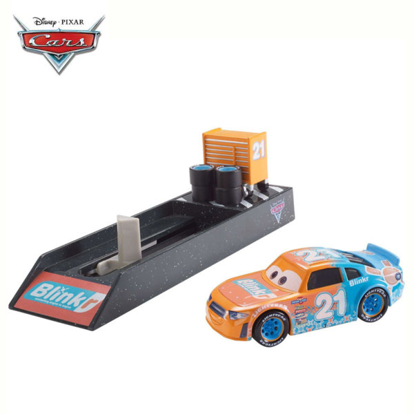 Mattel - Disney Cars Изстрелвачка с количка Speedy Comet FLH75